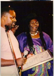 City of Houston Honors Bob Marley Festival presented to Bob mother Mrs Booker